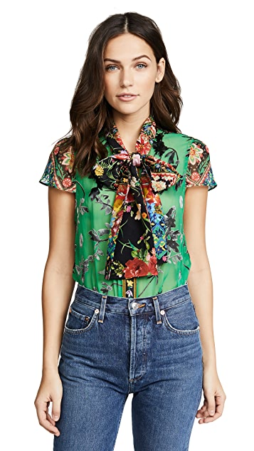 alice + olivia Jeannie Blouse