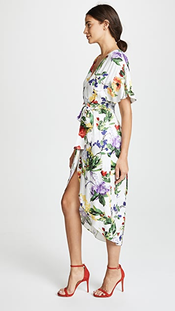 alice + olivia Clarine Wrap Dress