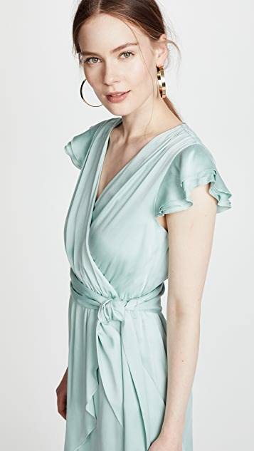 alice + olivia Ilissa Wrap Dress
