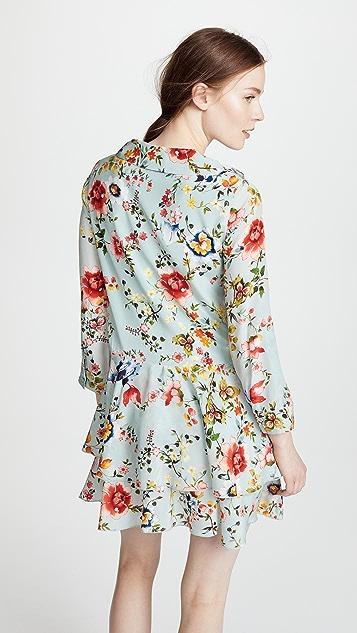 alice + olivia Moore Layered Tunic Dress