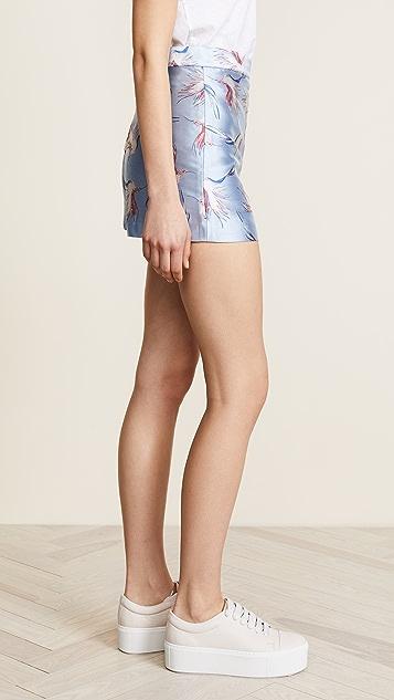alice + olivia Heath Shorts