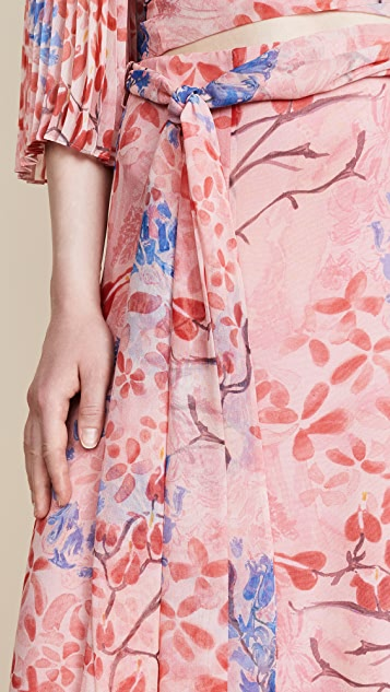 alice + olivia x Lola Montes Schnabel Athena Skirt
