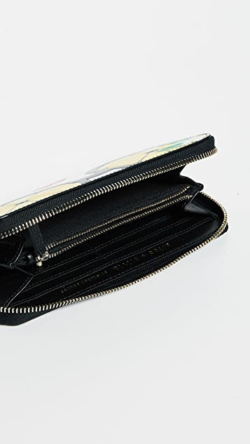 alice + olivia Candice Stace Face Long Wallet