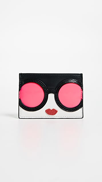 alice + olivia Elle Stace Face Card Case