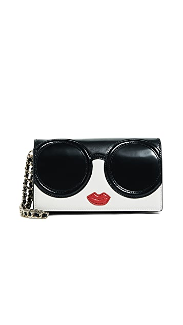 alice + olivia Piper Stace Face Wallet Wristlet