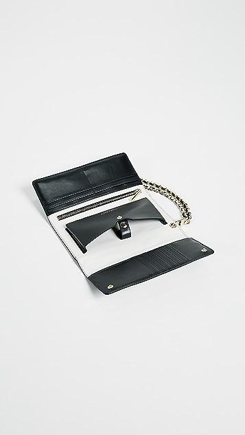 alice + olivia Ryder Stace Face Phone Wallet Wristlet