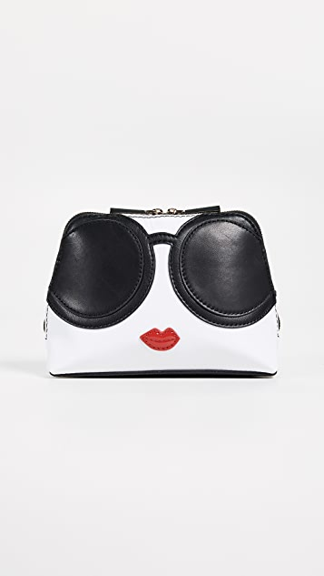 alice + olivia Stace Face Cosmetic Bag