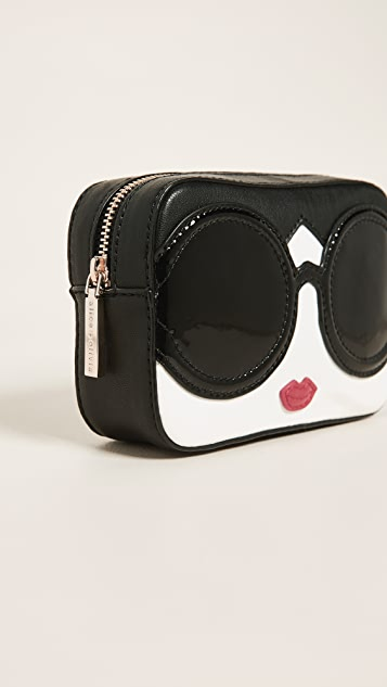 alice + olivia Stace Face Small Travel Cosmetic Case