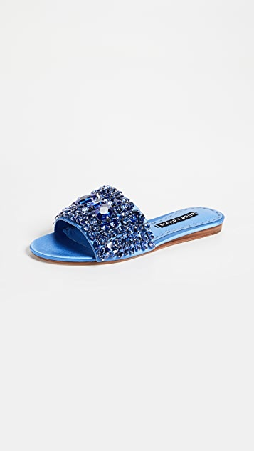 Abbey Crystal Slides Alice & Olivia zjwFr9Nw