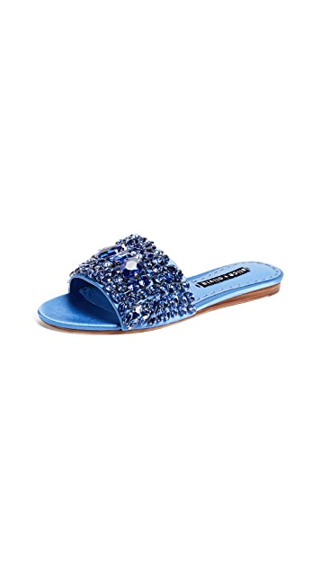 alice + olivia Abbey Crystal Slides