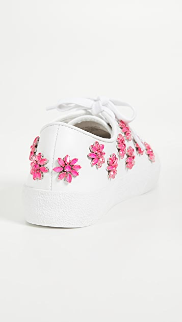 alice + olivia Cleo Floral Sneakers