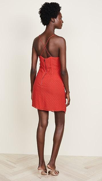 alice + olivia Daria Flare Dress
