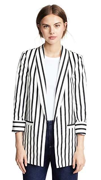 alice + olivia Kylie Shawl Jacket