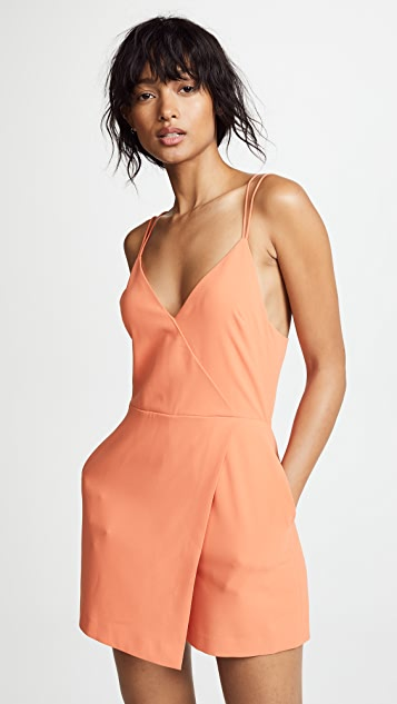 alice + olivia Emery Fitted Romper