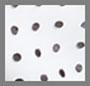 Soft White Mono Dot Small