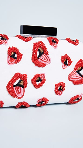 alice + olivia x Donald Robertson Shirley Large Clutch