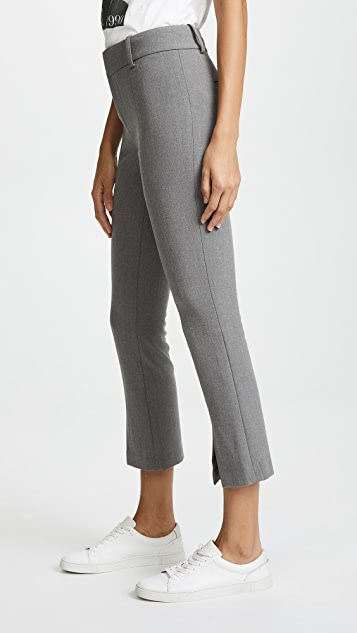 alice + olivia Stacey Slit Front Pants