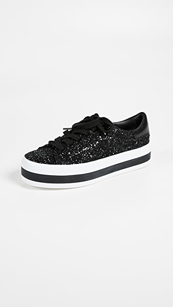 Ezra Platform Sneakers by Alice + Olivia