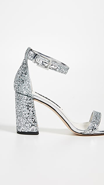 alice + olivia Lillian Block Heel Sandals