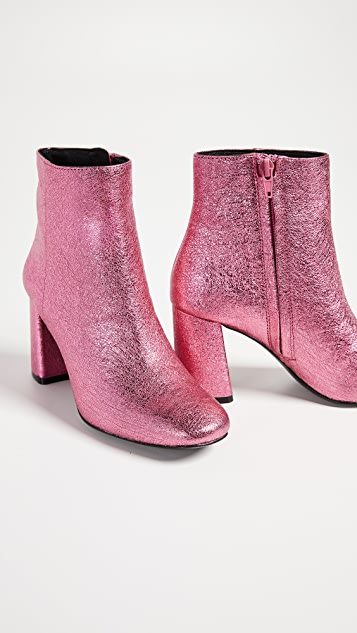 alice + olivia Dobrey Block Heel Booties