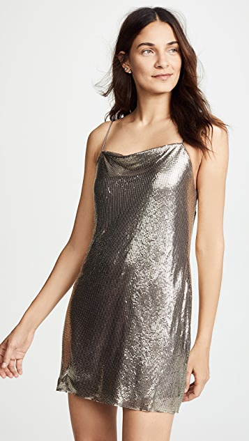 alice + olivia Harmony Chainmail Dress
