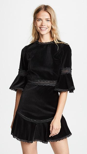 Alice Olivia Doloris Flare Dress Shopbop