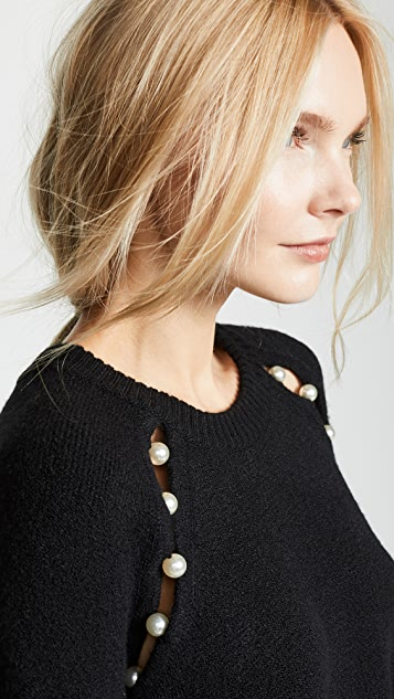 alice + olivia Jolynn Relaxed Pullover Sweater