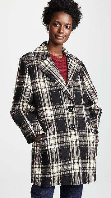 alice + olivia Lance Oversized Coat