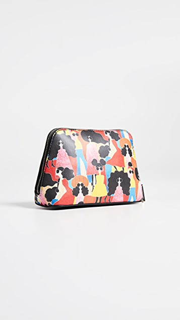 alice + olivia Nikki Stacey Montage Cosmetic Case