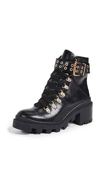 alice + olivia Havis Moto Boots