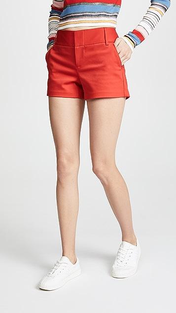 alice + olivia Cady Shorts