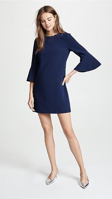 alice + olivia Thyme Short Trumpet Sleeve Dress
