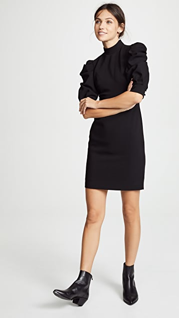 Alice Olivia Brenna Puff Sleeve Dress Shopbop