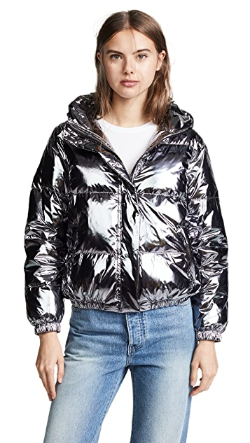 alice + olivia Durham Hooded Puffer