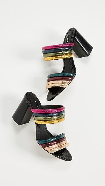 alice + olivia Lori Double Strap Sandals