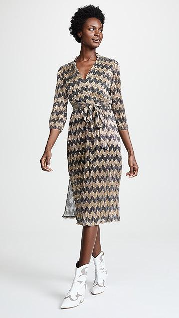 alice + olivia Katina Midi Dress