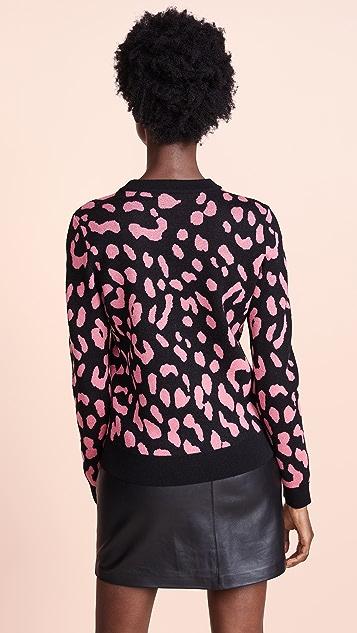 alice + olivia Chia Pullover Sweater