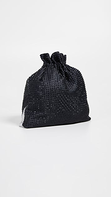 alice + olivia Odessa Stace Face Crystal Pouch