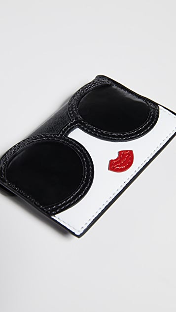 alice + olivia Lexi Stace Face Envelope Card Case