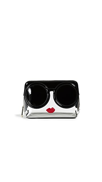 alice + olivia Nikki Stacey Face Cosmetic Case