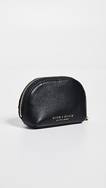 alice + olivia Ruby Stace Face Domed Pouch