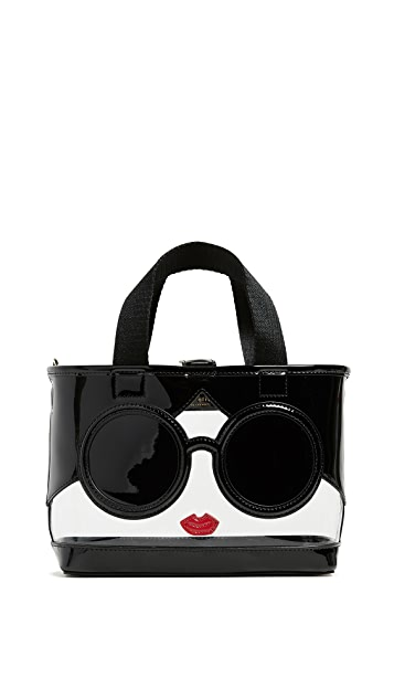 alice + olivia Ashley Mini Stacey Face 斜挎手提袋