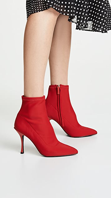 alice + olivia Irin Stretch Booties