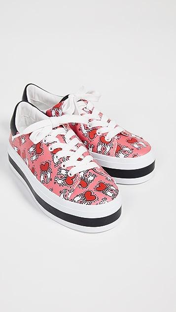 alice + olivia Keith Haring Ezra Sneakers