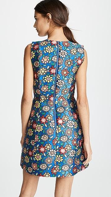 alice + olivia Прошитое платье-трапеция Patty