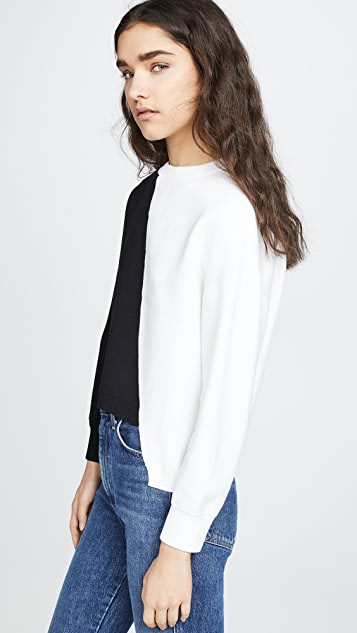 alice + olivia Elyse Cropped Pullover