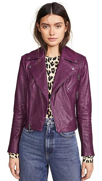 alice + olivia Cody Leather Jacket