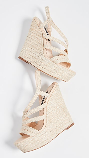 alice + olivia Tenley 厚底凉鞋