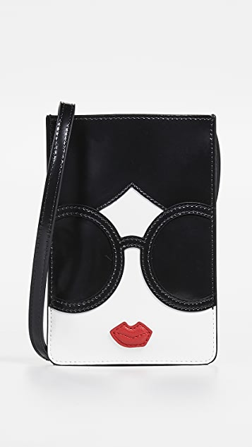 alice + olivia Carla Staceface Phone Case Crossbody