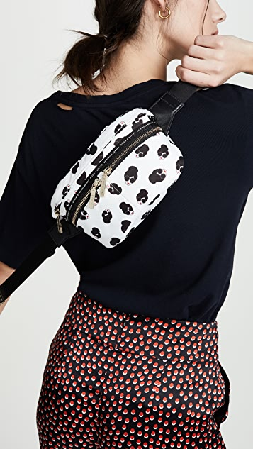 alice + olivia Gracie Multi Staceface Fanny Pack